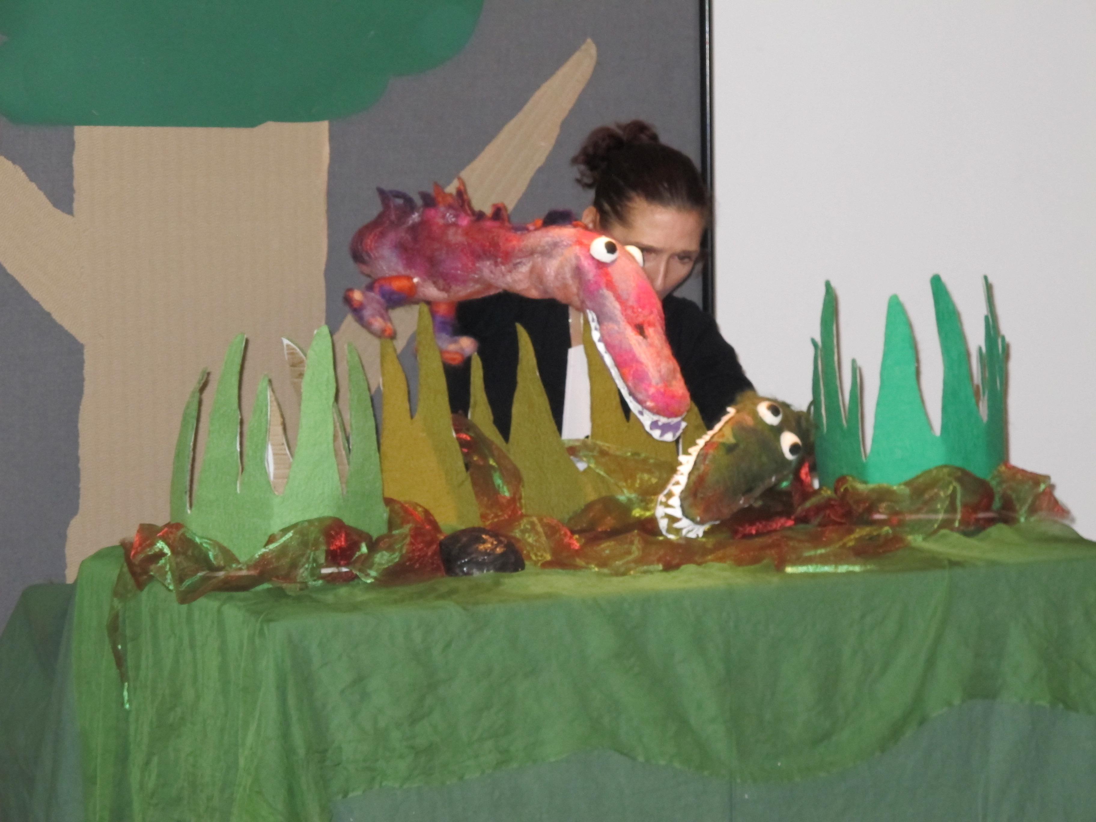 de billenbijter - krokodil Roos Dansverhaal